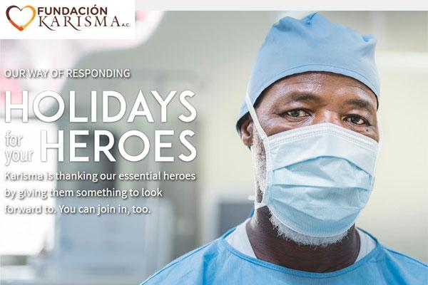 Karisma Hotels & Resorts kicks off 'Holidays for Your Heroes' initiative, Donates 150 luxury all-inclusive resort stays to essential workers and their families